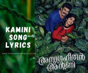 Kamini Song Lyrics