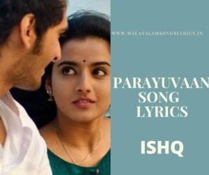 Parayuvaan Song Lyrics