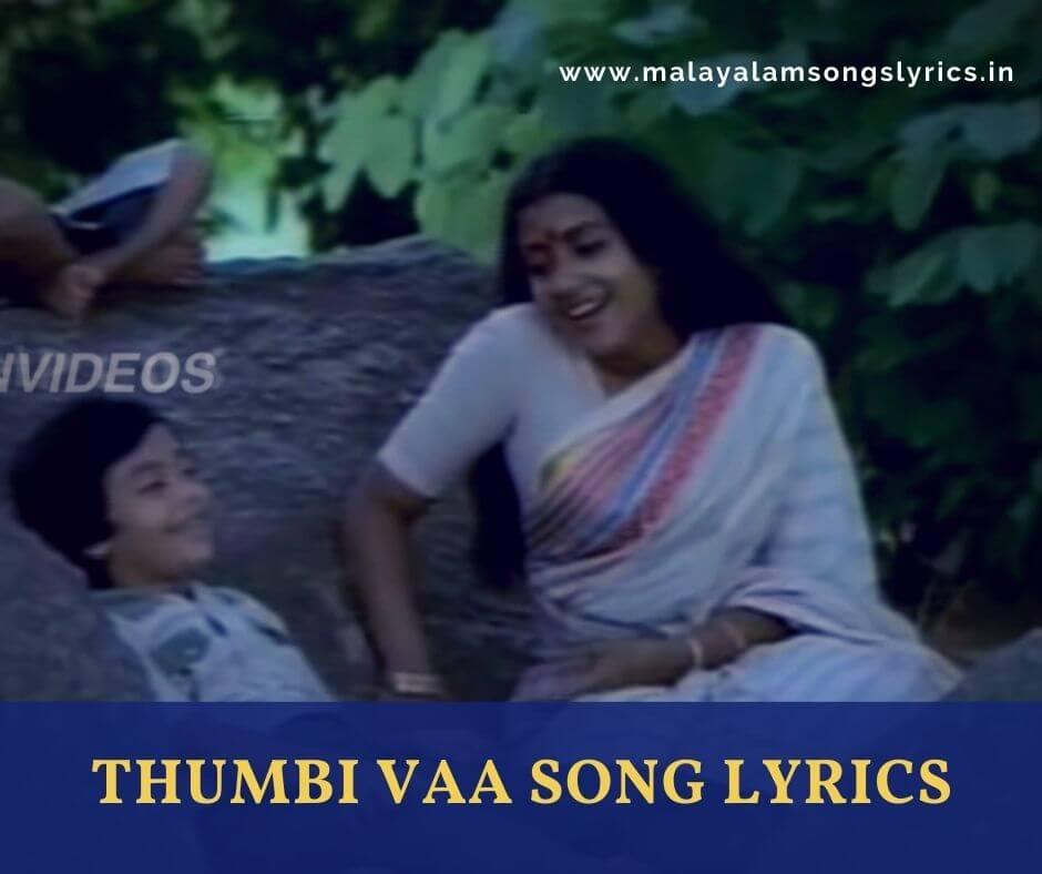 Thumbi Vaa Song Lyrics